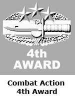 Combat Action 4th Award