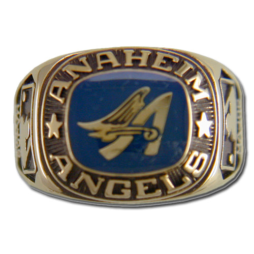 Anaheim Angels Classic Goldplated Major League Baseball Ring