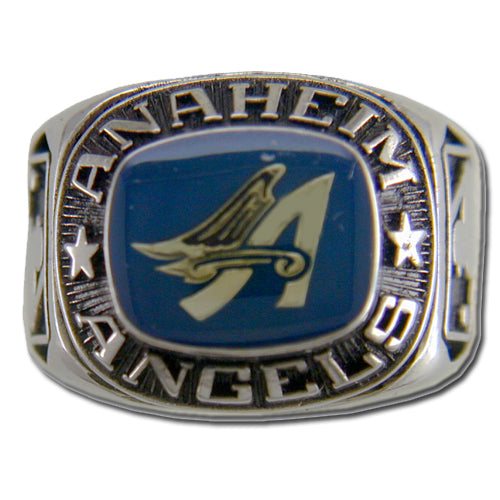 Anaheim Angels Classic Silvertone Ring