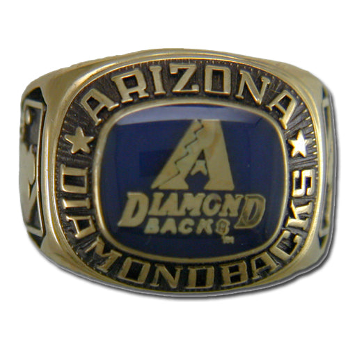 Arizona Diamondback Classic Goldplated Ring