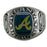 Atlanta Braves Classic Silvertone Ring