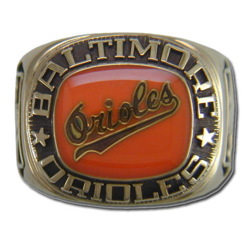 Baltimore Orioles Classic Goldplated Ring