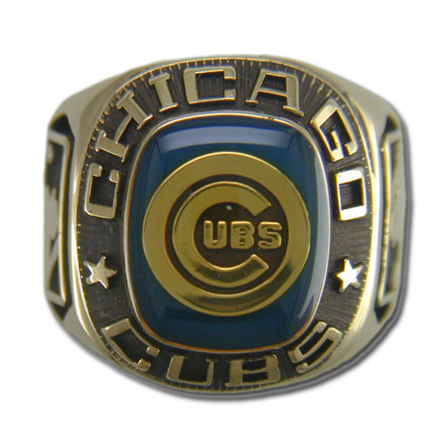 Chicago Cubs Classic Goldplated Ring
