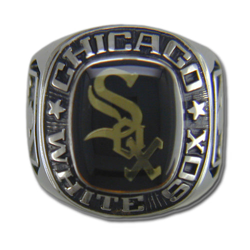 Chicago White Sox Classic Silvertone Ring