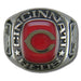 Cincinnati Reds Classic Silvertone Major League Baseball Ring