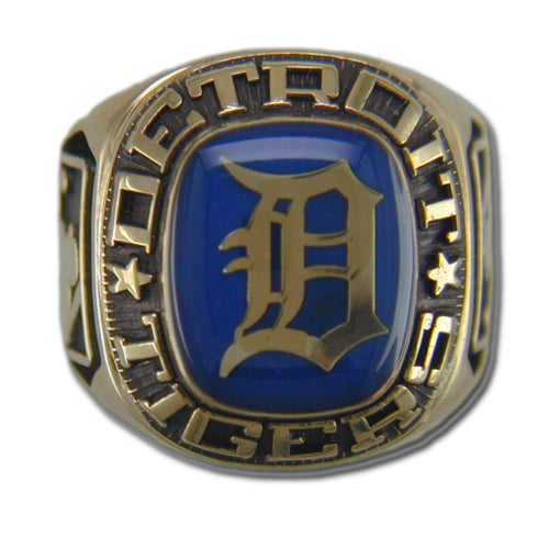 Detroit Tigers Classic Goldplated Ring