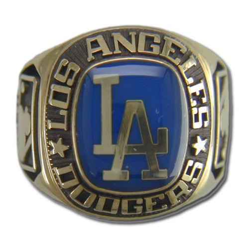 Los Angeles Dodgers Classic Goldplated Ring