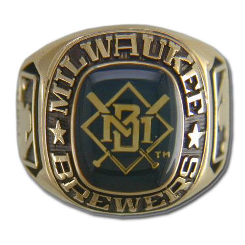 Milwaukee Brewers Classic Goldplated Ring