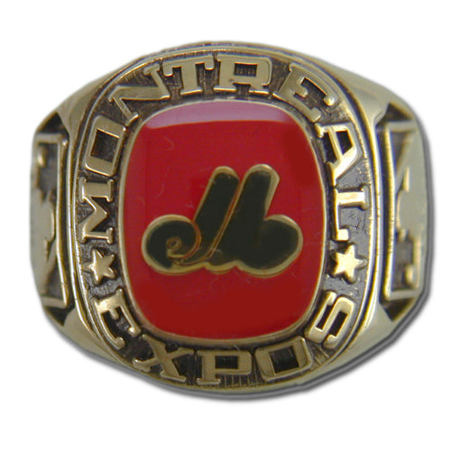 Montreal Expos Classic Goldplated Ring
