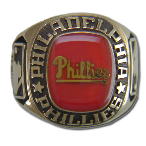 Philadelphia Phillies Classic Goldplated Ring