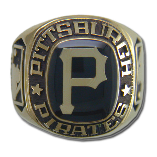 Pittsburgh Pirates Classic Goldplated Ring