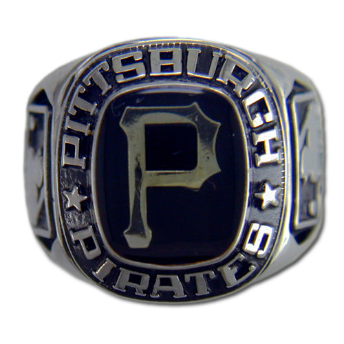 Pittsburgh Pirates Classic Silvertone Ring