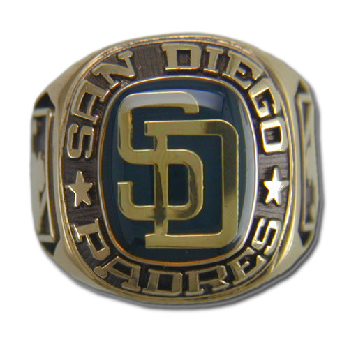 San Diego Padres Classic Goldplated Ring