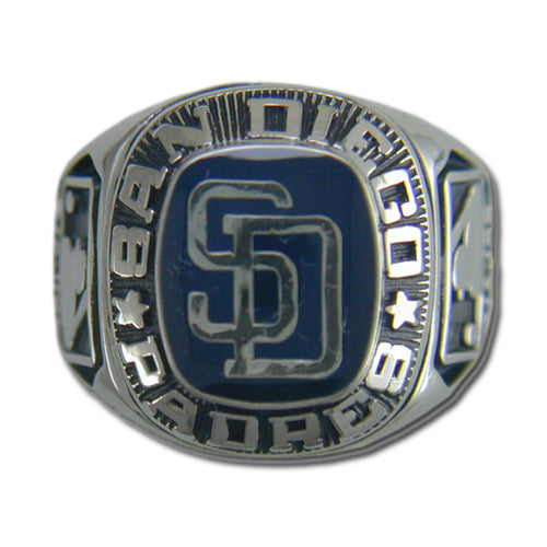 San Diego Padres Classic Silvertone Ring