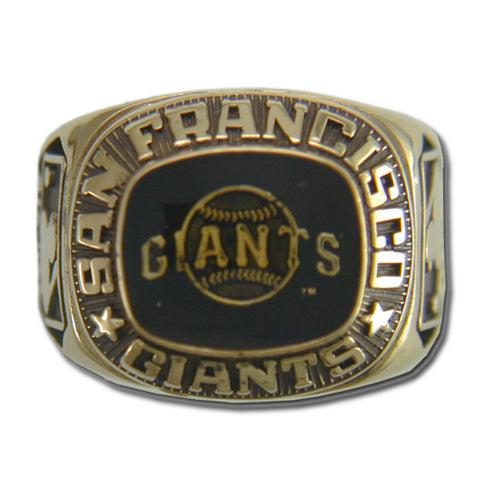 San Francisco Giants Classic Goldplated Ring