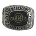 San Francisco Giants Classic Silvertone Major League Baseball Ring