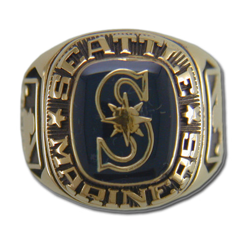 Seattle Mariners Classic Goldplated Ring