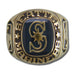 Seattle Mariners Classic Goldplated Major League Baseball Ring