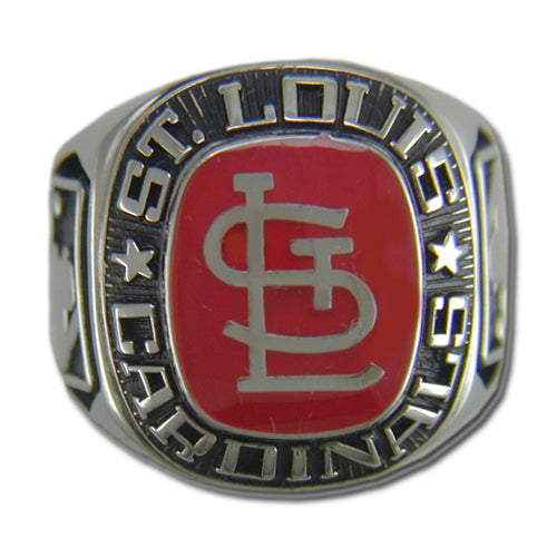 St. Louis Cardinals Classic Silvertone Ring