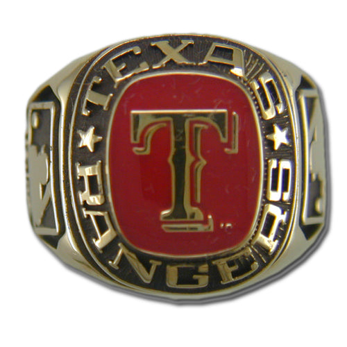 Texas Rangers Classic Goldplated Ring