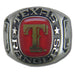 Texas Rangers Classic Silvertone Major League Baseball Ring
