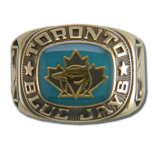 Toronto Blue Jays Classic Goldplated Ring