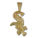 Chicago White Sox charm 14 kt Gold Pendant
