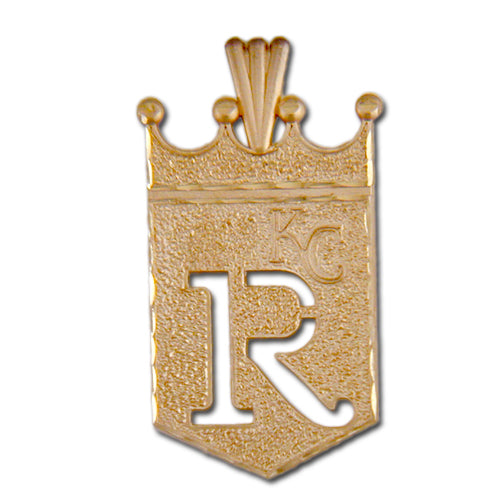 Kansas City Royals logo 14 kt Gold Pendant
