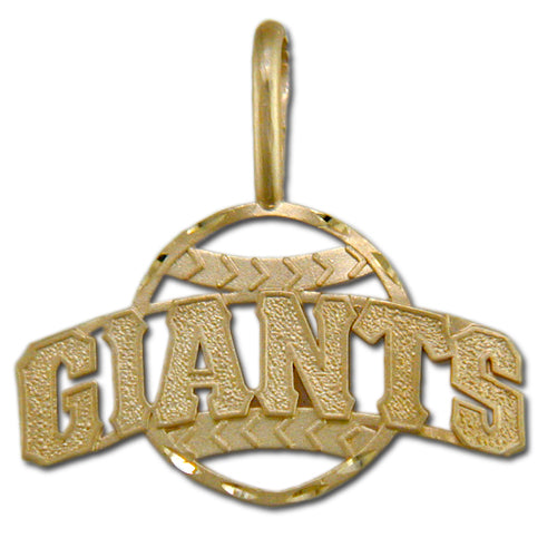 San Francisco Giants 14 kt Gold Pendant