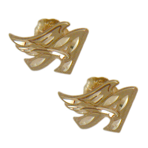 Anaheim Angels A Earrings