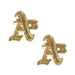 Oakland Athletics Earrings