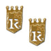 Kansas City Royals logo Earrings