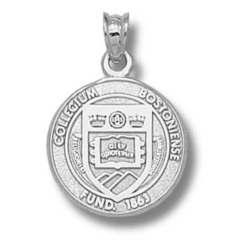 Boston College Seal Silver Pendant