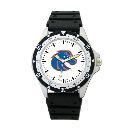 Boise State Option Sport Watch With PU Rubber Strap