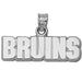 Boston Bruins WORD MARK BRUINS Silver Pendant