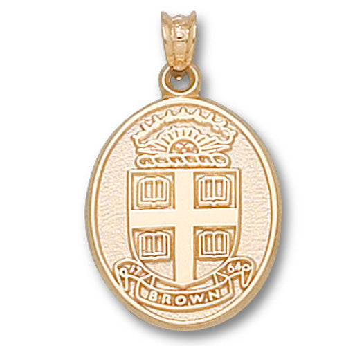 Brown University Seal 14 kt Gold Pendant