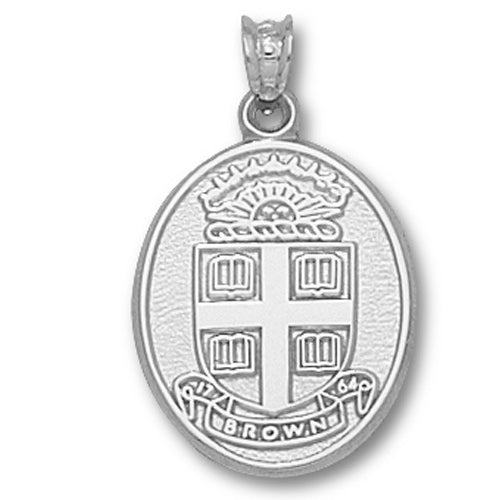 Brown University Seal Silver Pendant