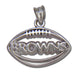 Cleveland Browns Pierced Football
