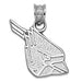 Ball State University CARDINAL HEAD Silver Pendant