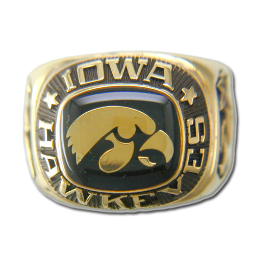 University of Iowa Men's Large Classic Ring