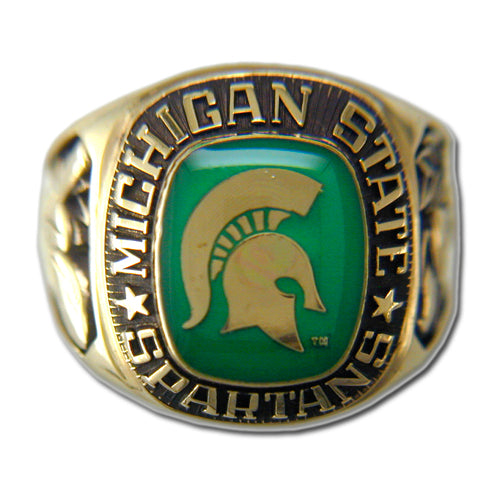 Michigan State University Men's Large Classic Ring