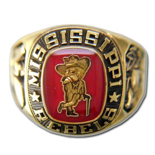 University of Mississippi Men's Large Classic Ring