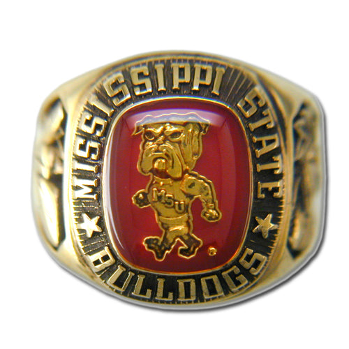Mississippi State University Men's Large Classic Ring