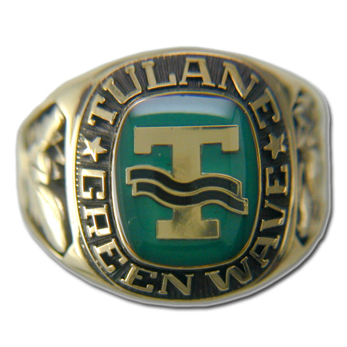 Tulane University Men's Large Classic Ring