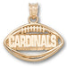 Arizona Cardinals Pierced Football