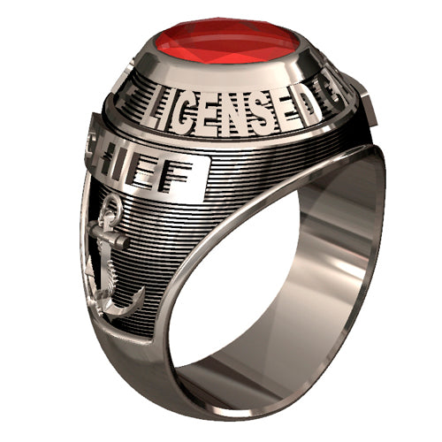 USCG Licensed Captains Ring - Classic