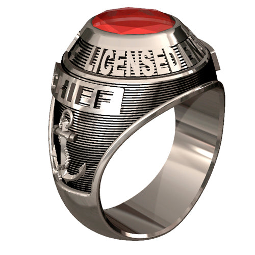 USCG Licensed Engineers Ring - Classic