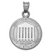 College of Charleston Seal Silver Pendant