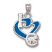 Chicago Cubs I Heart Logo with enamel Pendant