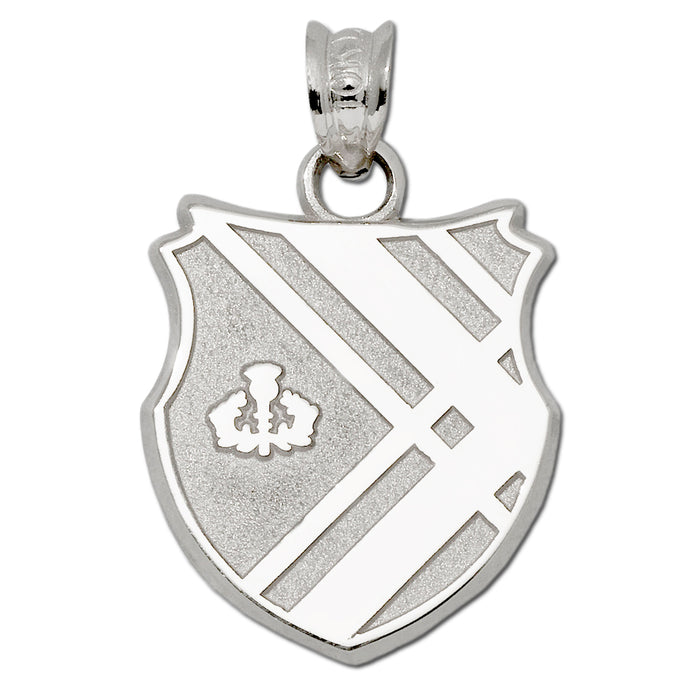 Covenant College Shield Silver Pendant